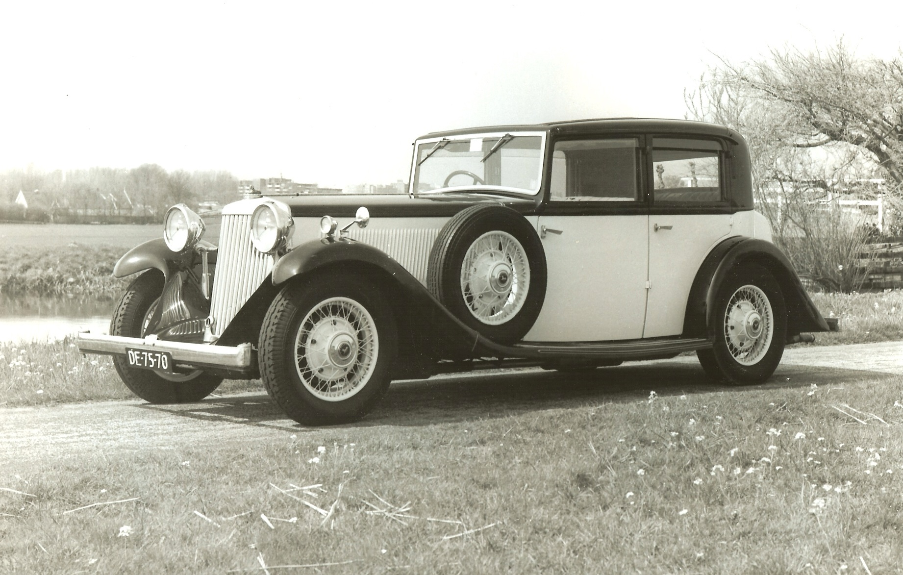 Siddeley Special Sports Saloon